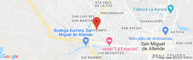 Property 4049 Map in San Miguel de Allende