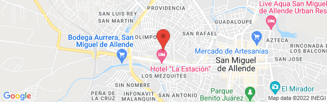 Property 4060 Map in San Miguel de Allende