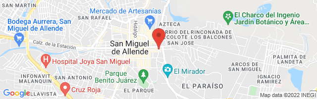 Property 4131 Map in San Miguel de Allende