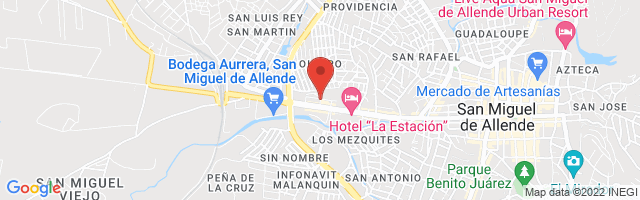 Property 4137 Map in San Miguel de Allende