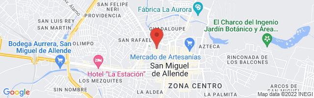 Property 4144 Map in San Miguel de Allende