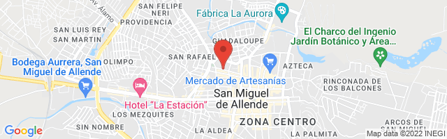 Property 4148 Map in San Miguel de Allende