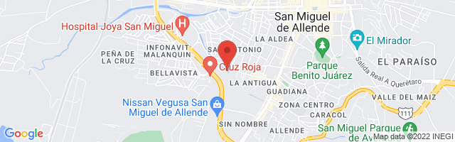 Property 4202 Map in San Miguel de Allende