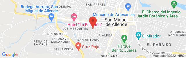 Property 4221 Map in San Miguel de Allende