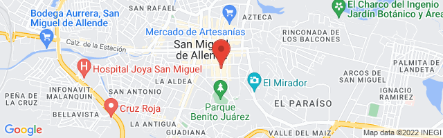 Property 4298 Map in San Miguel de Allende