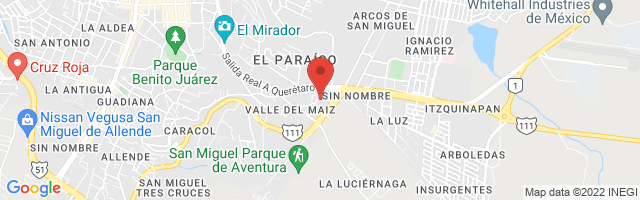 Property 4362 Map in San Miguel de Allende