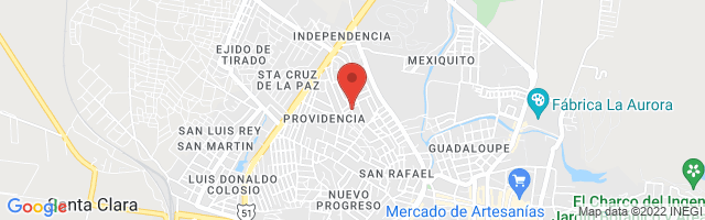 Property 4377 Map in San Miguel de Allende
