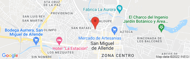 Property 4603 Map in San Miguel de Allende