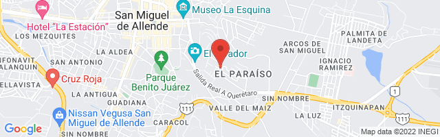 Property 4653 Map in San Miguel de Allende
