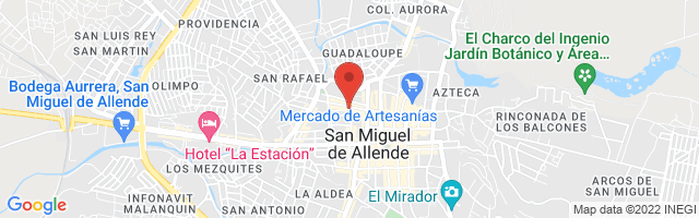 Property 4755 Map in San Miguel de Allende
