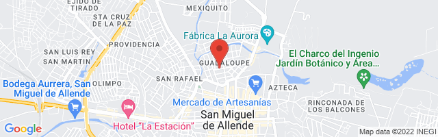 Property 4823 Map in San Miguel de Allende