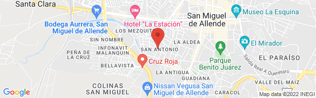 Property 4861 Map in San Miguel de Allende