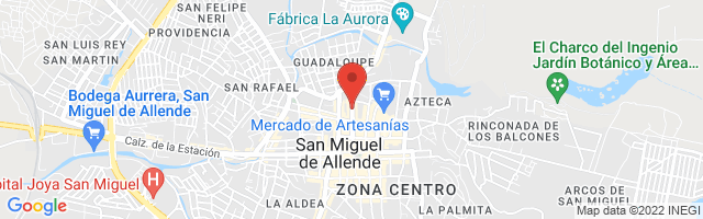 Property 4921 Map in San Miguel de Allende