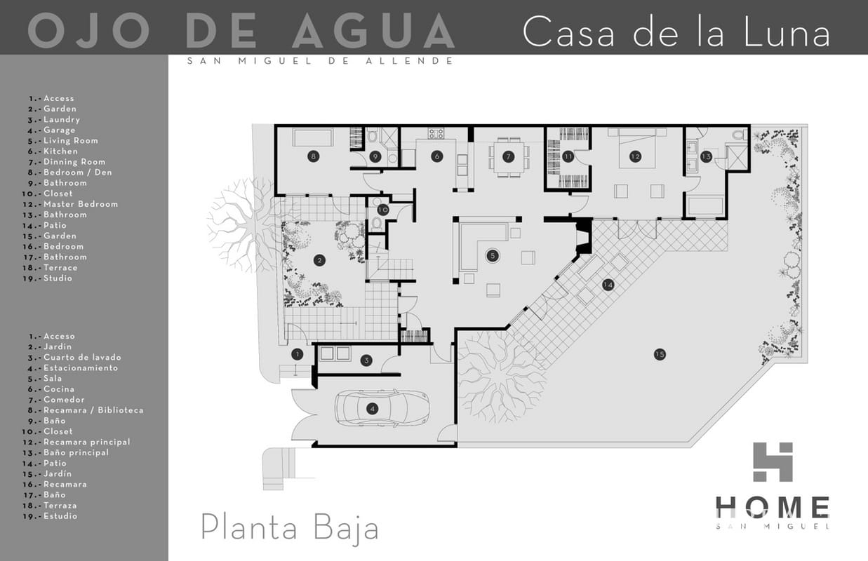 Casa De La Luna