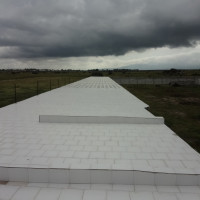 Tiled rooftop for waterproofing