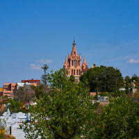 Views to the parroquia